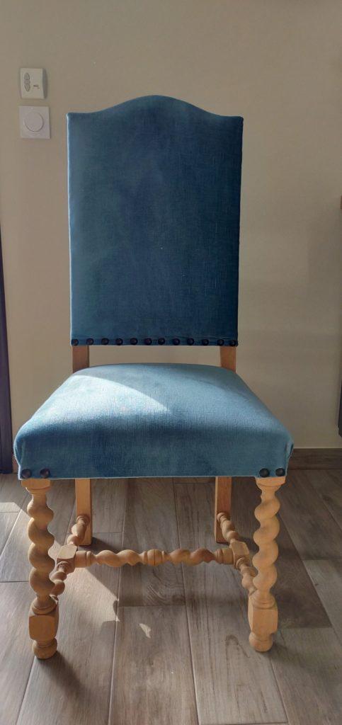 ancienne chaise restaurée Angers