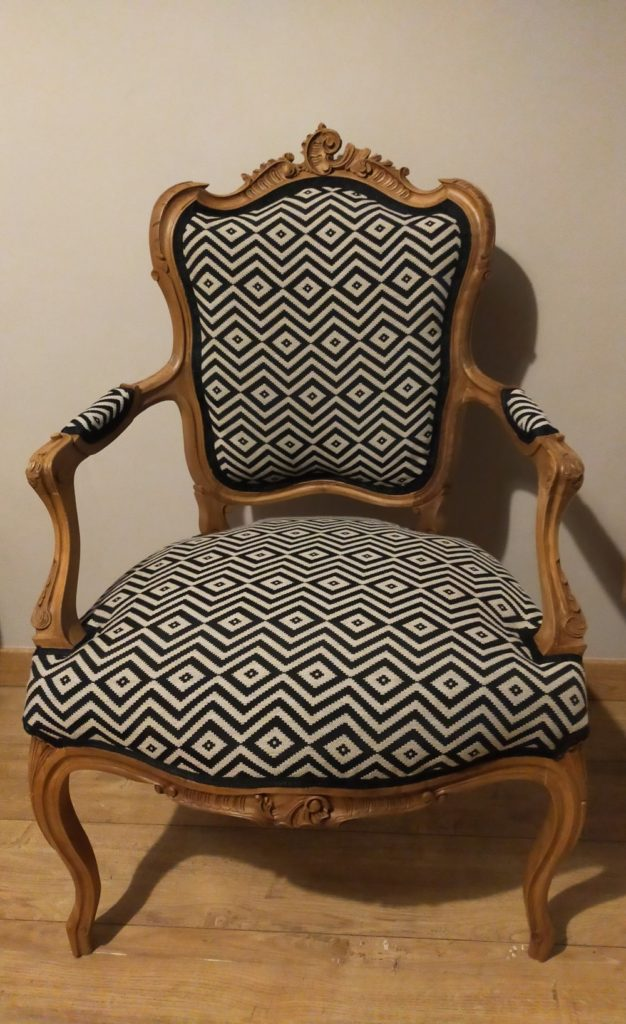 ancien fauteuil restauré Angers