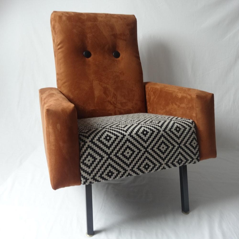 fauteuil 60's restauré Angers