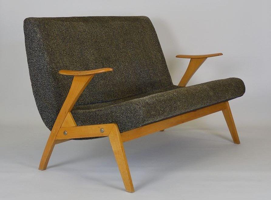 fauteuil scandinave vintage 2 personnes angers
