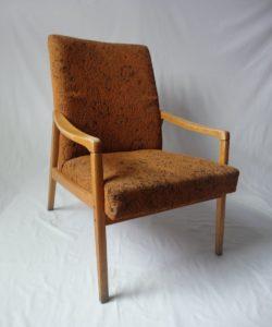 fauteuil scandinave vintage à rénover angers