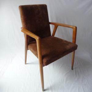fauteuil scandinave vintage à restaurer Angers