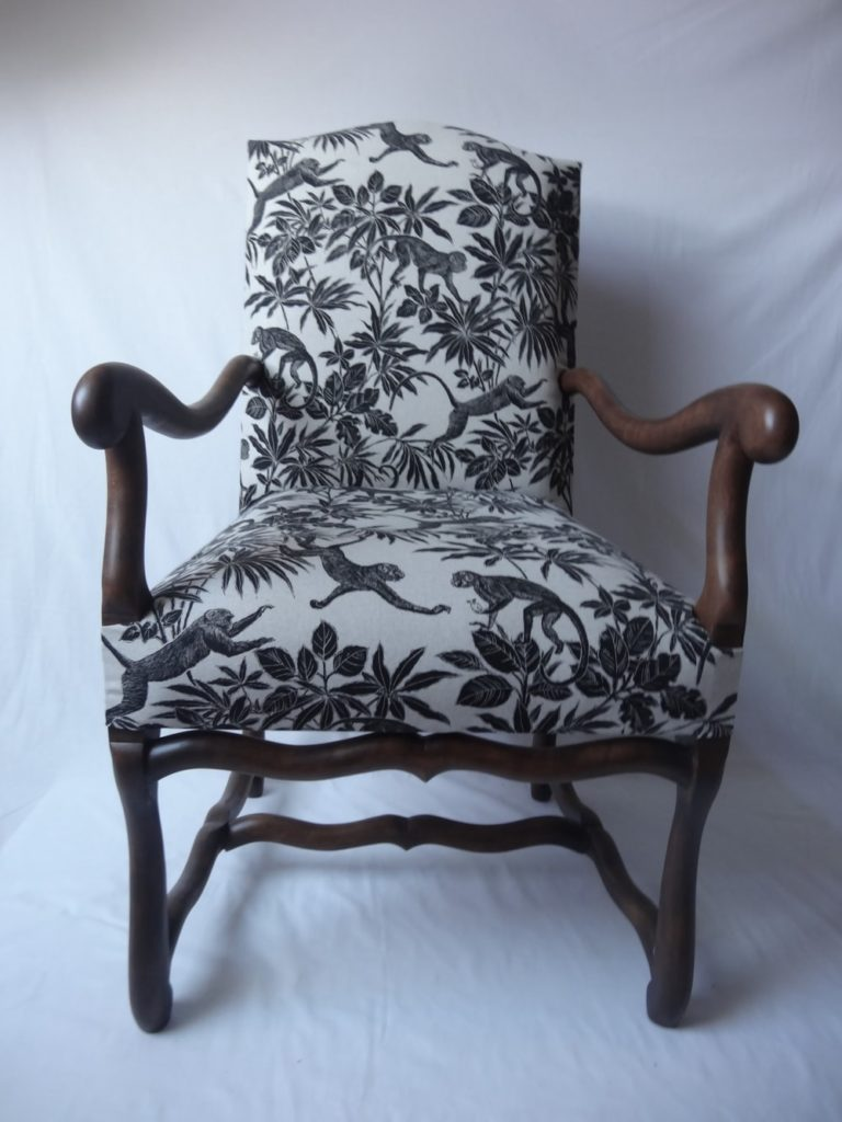 fauteuil vintage Anatole Angers