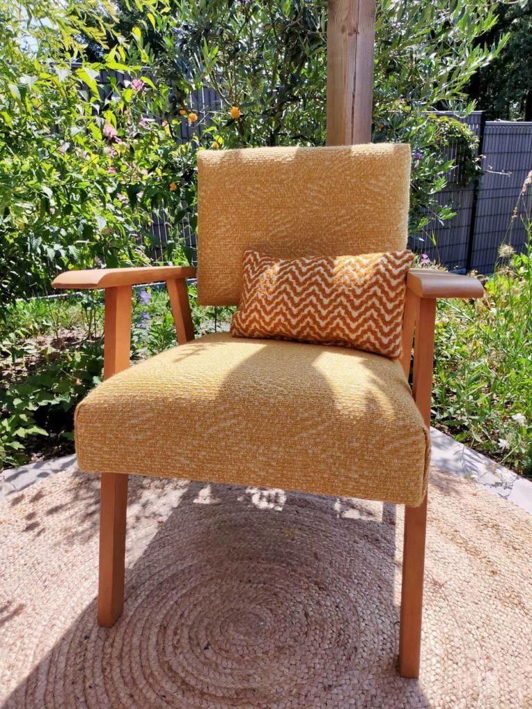fauteuil scandinave rénové Alan