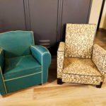 fauteuils enfant à rénover