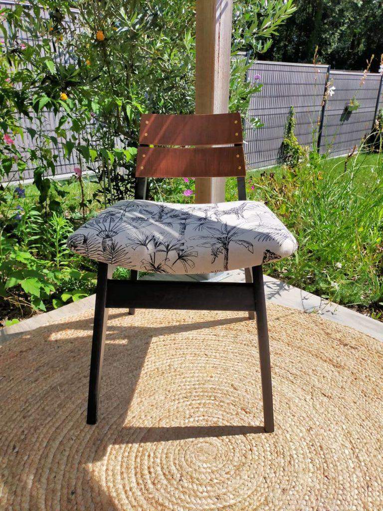 fauteuil vintage rénové Koen