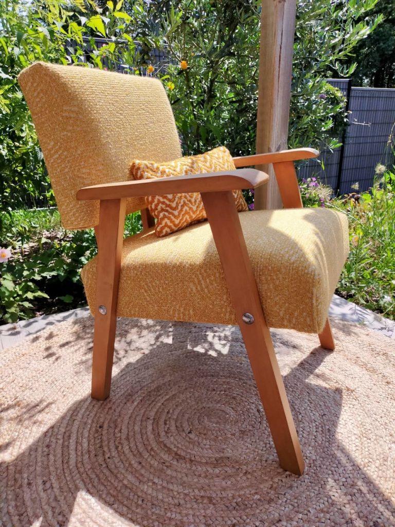 profil Alan fauteuil scandinave vintage