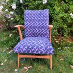 fauteuil scandinave rénové Conrad Angers