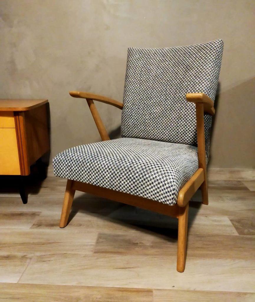 fauteuil scandinave vintage renove-hendrick-angers