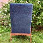 fauteuil scandinave vintage renove-japie-dos-angers