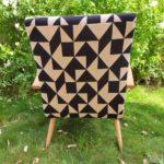 fauteuil scandinave vintage rénové-lorens-dos-angers