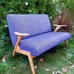 fauteuil scandinave vintage rénové Marc profil Angers