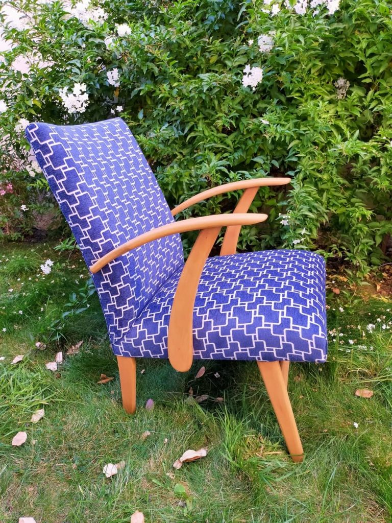 profil fauteuil scandinave rénové Conrad Angers