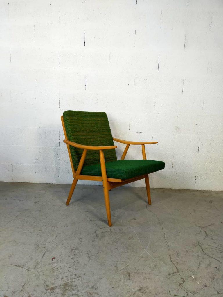 fauteuil scandinave Jorunn à restaurer Angers
