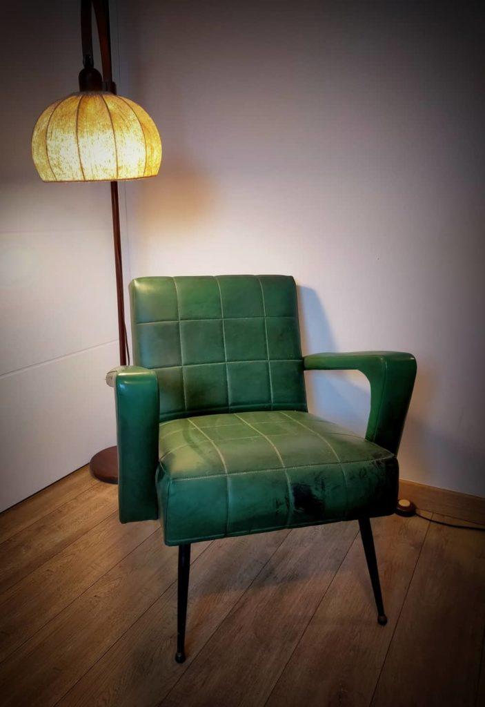 fauteuil vintage à restaurerharaldangers